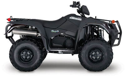 2018 SUZUKI KINGQUAD 500AXI ​POWER-STEERING SPECIAL EDITION MATTE BLACK