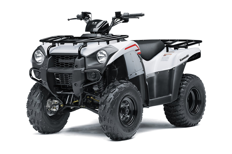 2021 KAWASAKI BRUTE FORCE 300 WHITE