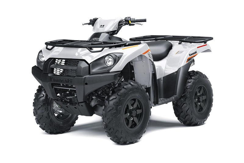 2021 KAWASAKI BRUTE FORCE 4X4I ESP WHITE