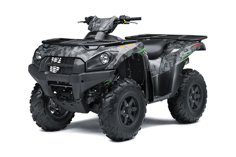 2021 KAWASAKI BRUTE FORCE 750 4X4I ESP CAMO GREY