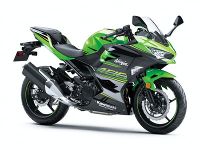 2019 KAWASAKI NINJA 400 ABS KAWASAKI RACING TEAM EDITION GREEN