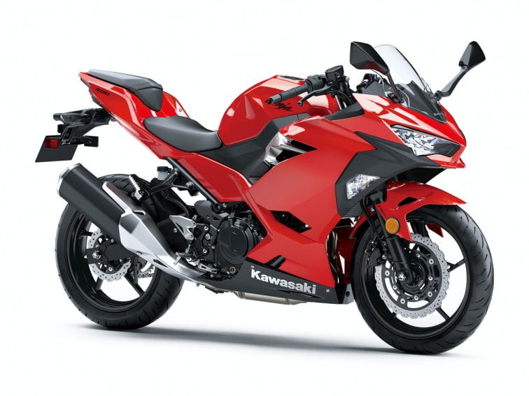 2018 KAWASAKI NINJA 400 ABS RED