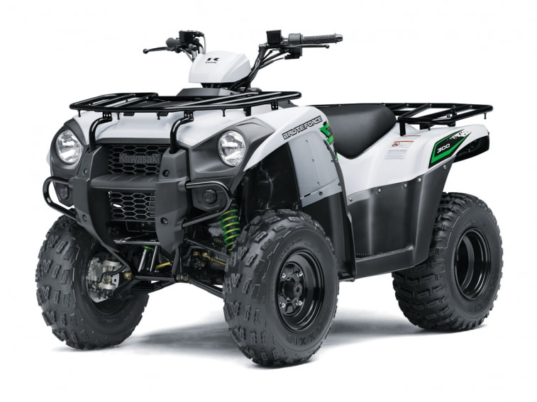 2018 KAWASAKI BRUTE FORCE 300 WHITE
