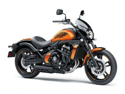 2019 KAWASAKI VULCAN S 650 ABS CAFE EDITION ORANGE