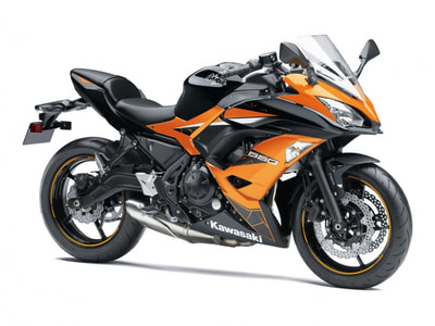 2019 KAWASAKI NINJA 650 ABS SPECIAL EDITION ORANGE