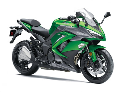 2019 KAWASAKI NINJA 1000 ABS GREEN GRAY
