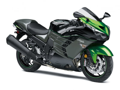2019 KAWASAKI ZX-14R ABS BLACK GREEN