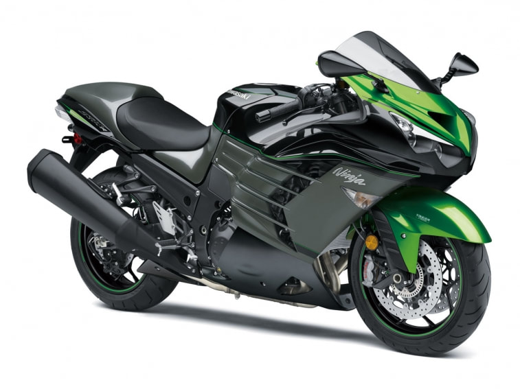 2019 Kawasaki Ninja Zx 14r Abs Black Green Bobs Cycle